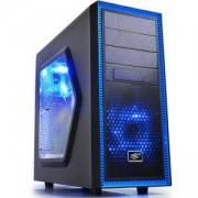 Кутия за настолен компютър DeepCool Tesseract SW Blue Mid Tower, DP-TESSW_VZ
