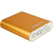 Maxim High Speed Charging 10400 Mah Power Bank (Gold) Suitable For All Smart Phones