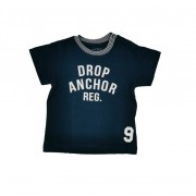 Tricou bleumarin pentru baieti cu imprimeu, Mayoral 9luni
