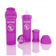 Biberon Twistshake Anti - Colici 330 ml Violet