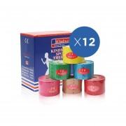 Pack x12 Tapes Kindmax Menthol Pegamento Japonés Original 5cm x 5mt