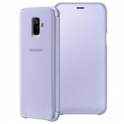 Capa Flip para Samsung Galaxy A6 (2018) EF-WA600CVEGWW - Violeta