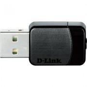 Безжичен адаптер D-Link DWA-171 AC600 MU-MIMO Wi-Fi USB