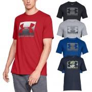 Under Armour Mens UA Boxed Sportstyle T-Shirt Acier/Graphite 3XL