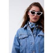 ''Gina Tricot'' ''Sara sunglasses'' ''White (1000)'' ONESZ
