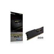 Memoria Desktop Gamer Ddr4 Corsair Cmk8gx4m1a2400c14 8gb 2400mhz Dimm Cl14 Vengeance Lpx Black