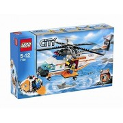Lego City Coast Guard Helicopter & Life Raft 7738