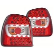 Stopuri cu LED VW Polo 6N 95-98 rosu