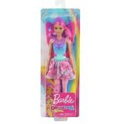 Mattel Barbie Dreamtopia, Bambola Fatina con Capelli e Ali Rosa, 3+ Anni...