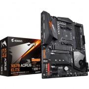 Placa de baza GIGABYTE X570 AORUS ELITE , Socket AM4 , Sloturi 4 , AMD X570 , ATX