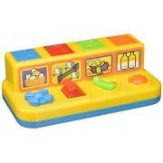 Castle Toys Push, Slide, Click & Turn Pop-up Farm Yard Friends Play Set