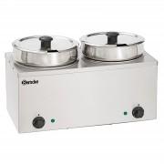 Bartscher Bain Marie Hotpot - 2 x pot - 6,5 Litres