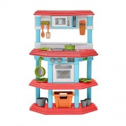 My Very Own Gourmet Kitchen Pretend Playset Toys With 23 Play Kids Accessories, Super Fun Culinary-Based Play Set, Great Gift Idea