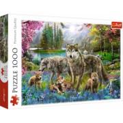 Puzzle Trefl 1000 Familie De Lupi