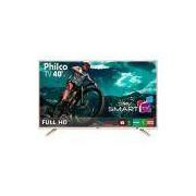 Smart TV LED 40 Philco PTV40E21DSWNC Full HD com Conversor Digital 2 HDMI 2 USB Wi-Fi 60Hz - Champagne