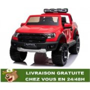 4x4 électrique 12 V Ford Ranger Raptor télécommande Bluetooth