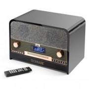 Technaxx Radio DAB e FM con LCD Lettore CD e USB, TX-102