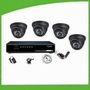 CCTV 4 Camera Kit (Sony Chip Cameras)