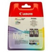 Canon Multipack nero / differenti colori 2970B010 PG-510 + CL-511 PG-510 + CL-511