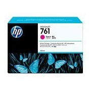 HP 761 Magenta Designjet Ink Cartridge, 400-ml (CM993A)