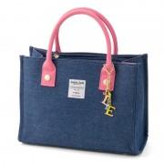 ジョリージョリ デニム スクエア トートバッグ【QVC】40代・50代レディースファッション
