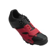 Giro Cylinder Fietsschoenen - Rood Zwart