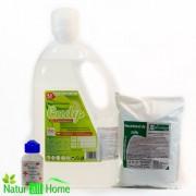PACHET Detergent lichid hipoalergenic 4,5l -Cudy & percarbonat de sodiu 1kg-& CADOU parfum de rufe 100ml