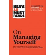 """Hbr's 10 Must Reads on Managing Yourself (with Bonus Article """"how Will You Measure Your Life?"""" by Clayton M. Christensen), Hardcover/Harvard Business Review"""