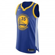 Kevin Durant Icon Edition Authentic (Golden State Warriors) Nike NBA Connected Trikot für Herren - Blau