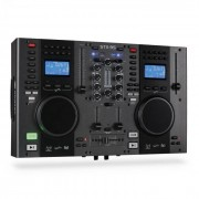 Skytec Controlador DJ STX-95 doble reproductor: CD, US, MP3 (Sky-172.806)