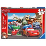 Disney Explosive Racing - Ravensburger 100 Piece Puzzle