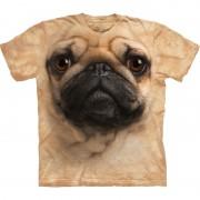 The Mountain Honden T-shirt Mopshond voor volwassenen