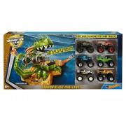 Hot wheels Monster Jam Truck Play Set, Dragon Blast Challenge 6 Trucks