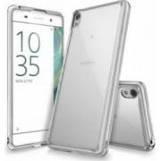 Husa Ringke Sony Xperia XA Fusion Crystal Clear+ Folie Ringke Invisible Screen Defender