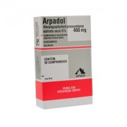 Arpadol 400mg Com 30 Comprimidos