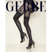 Gerbe Eleganta strumpbyxor i overknee-look Frou Frou noir 4