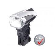 LED-Fahrradlampe FL-412 mit Licht-Sensor & Akku, zugelassen n. StVZO   Fahrradlampe