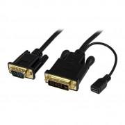 StarTech DVI-D naar VGA actieve kabel M/M 1,8m