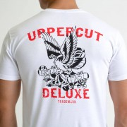 Uppercut Deluxe Men's Eagle T-Shirt - White - L - White