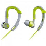 Fone de Ouvido Esportivo Gancho Ajustavel SHQ3300LF/00 Verde Philips