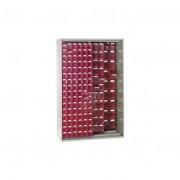 Rolléco Armoire à panneaux coulissants pour blocs tiroirs Type A - Vert