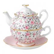 Royal Albert Tea Party tea for one - rose confetti