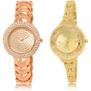 The Shopoholic White Gold Combo Latest Collection Fancy And Attractive White And Gold Dial Analog Watch For Girls Stylish Watches For Girls