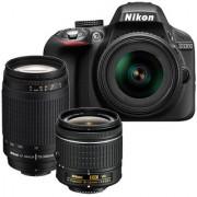 Nikon D3300 with AF-P 18-55 mm VR Lens II & AF-P 70-300 mm VR DSLR Camera