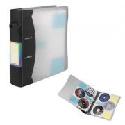 Hama Classeur pour 120 CD/DVD/Blue-Ray transparent