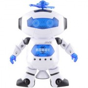 Vsquare Robot with LED Light and Music Multi Color