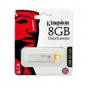 Kingston DTIG4/8GB - Memoria USB de 8 GB Blanco