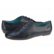 Pantofi casual piele femei s.Oliver Bony bleumarin