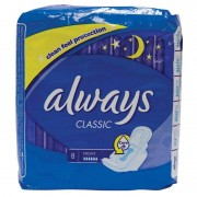 Always Classic Night With Wings 8 pcs Pads