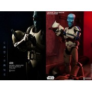 "Sideshow Star Wars The Clone Wars Cad Bane In Denal Disguise 1/6 Scale 12"" Figure"
